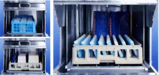 蓄冷剤・保冷受箱は商品と密接に触れる機会が多いため、しっかりとした洗浄・殺菌を行っております。